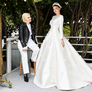 Dior exclusive: An inside look at Miranda Kerr's haute couture wedding dress