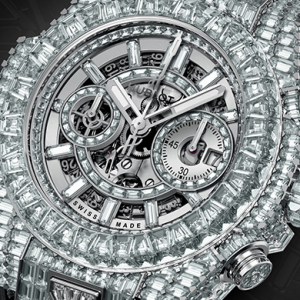 Haute Hublot horology: Floyd Mayweather's Dhs4million diamond watch