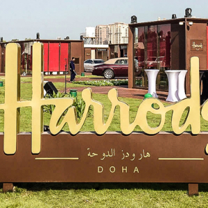 Harrods pops up in Doha
