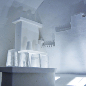 Les Ateliers de Germaine recreate Parisian rooftops for IceHotel