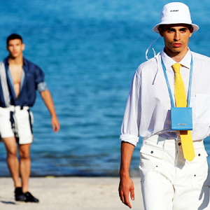 Simon Porte Jacquemus just debuted his first men's collection