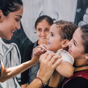 """It was a heartbreaking trip to Jordan"" – Jessica Kahawaty on visiting a UNICEF camp with Louis Vuitton"