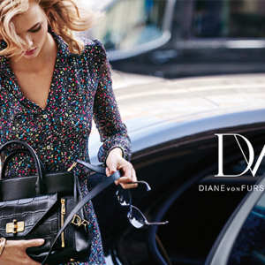 Karlie Kloss stars in Diane Von Furstenberg's new campaign for AW15