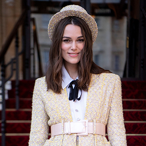 Keira Knightley wore Chanel couture to collect her OBE