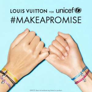 Louis Vuitton extends partnership with UNICEF
