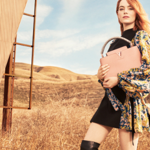 Emma Stone's debut campaign for Louis Vuitton is finally here
