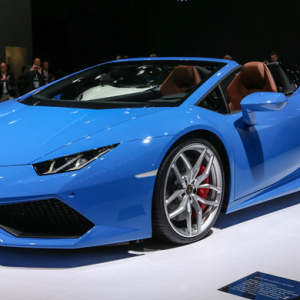 Lamborghini Huracan Spyder set for Middle East debut