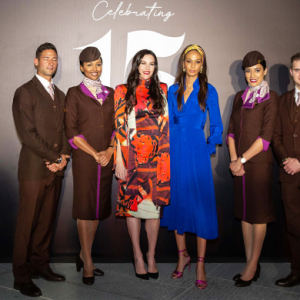 Etihad Airways kicks off its 15th anniversary by announcing an exclusive partnership with DVF