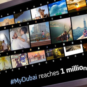 The #MyDubai initiative attracts one million Instagram submissions