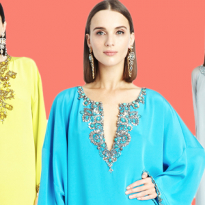 Oscar de la Renta unveil exclusive caftan collection
