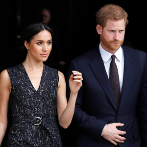 Prince Harry and Meghan Markle attend public engagement after Kate Middleton gives birth