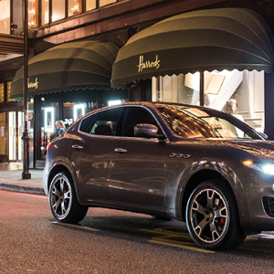 Harrods exclusive: Ermenegildo Zegna x Maserati collection