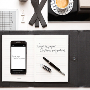 Traditional to virtual: Introducing Montblanc's augmented paper