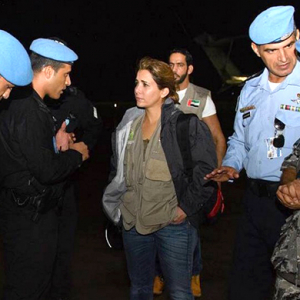 Princess Haya visits hurricane-hit Haiti