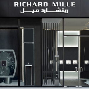 Doha debut: Richard Mille's boutique unveils the Pink Lady Sapphire