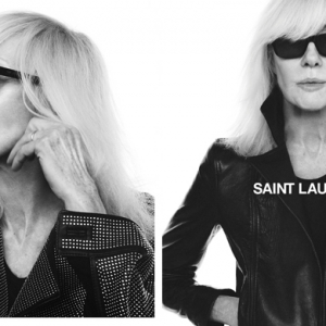 Betty Catroux lands a new campaign with Saint Laurent for Fall 2018