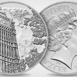 The Royal Mint unveils a limited-edition 100 GBP coin