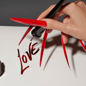 Buro 24/7 Middle East Exclusive: Christian Louboutin designs bespoke manicure for the Met Gala