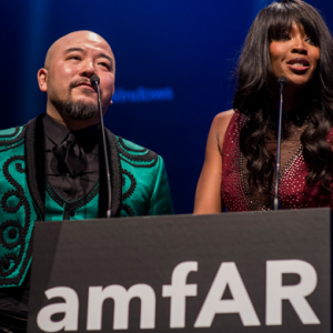 Stars turn out to support AmfAR's first Hong Kong gala