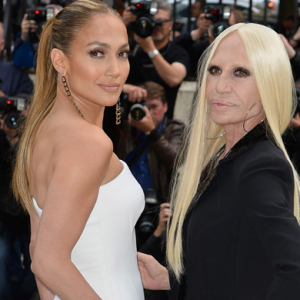Donatella Versace talks J.Lo, Givenchy and IPO at The Met