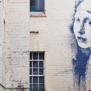 Banksy creates a new mural in his hometown of Bristol