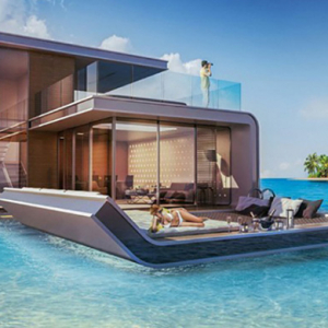 Take a look at the Floating Seahorse by the Kleindienst Group