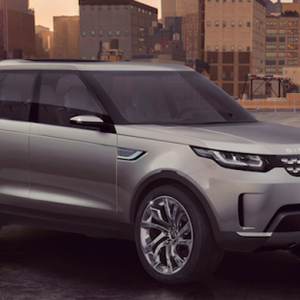 Land Drover fully reveals the Discovery Vision Concept