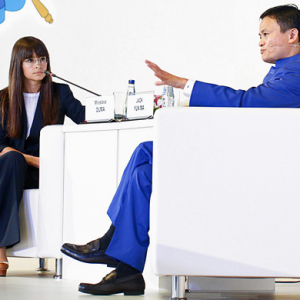 Buro 24/7's Mira Duma interviews Alibaba founder Jack Ma in Russia for #SPIEF2015