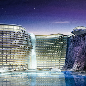 Ravine dream: Discover China's Shimao Wonderland Hotel