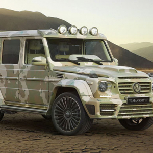 Introducing the Mercedes-Benz Sahara edition by Mansory