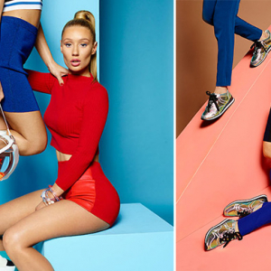 The Iggy Azalea for Steve Madden campaign images that riled the rap star