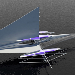 First look: The futuristic solar powered yacht by Margot Krasojevic