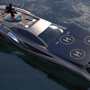 A look at the new $25m 'Xhibitionist' megayacht concept