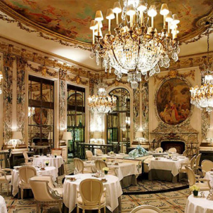 Yohji Yamamoto marks the 180th anniversary of Le Meurice hotel in Paris