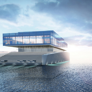 Lujac Desautel reveals the 'Glass Yacht' concept