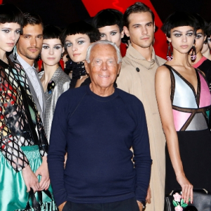 Now boarding: Giorgio Armani to show men's and women's S/S '19 collections together at Milan airport