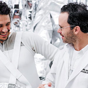 James Franco stars in Daniel Arsham's new short film