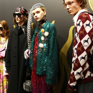 So, Gucci is the hottest brand in the world right now according to Lyst