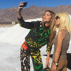 Donatella goes digital and joins Instagram