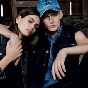 Kaia and Presley Gerber are the new faces of Calvin Klein