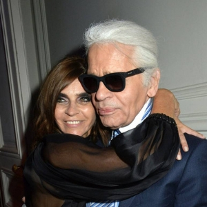 Carine Roitfeld is going to be a key collaborator for Karl Lagerfeld's namesake brand