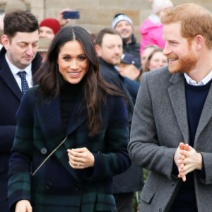 Prince Harry and Meghan Markle begin tour of Scotland
