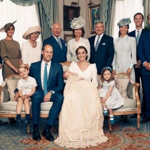 Kensington Palace releases official photos from Prince Louis' christening