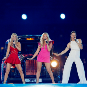 A Spice Girl all-but confirmed the band will perform at the royal wedding