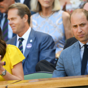 Kate Middleton makes her second appearance at Wimbledon for the men's final