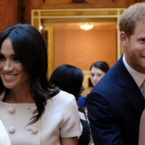 The Duke and Duchess of Sussex attend the Queen's Young Leaders reception