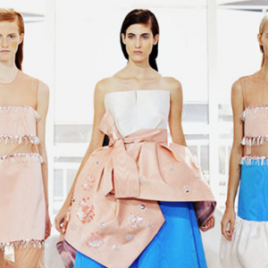New York Fashion Week: Delpozo Spring/Summer 16