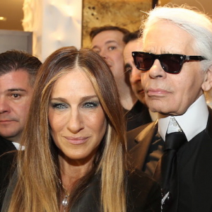 Rihanna, Karl Lagerfeld, Sarah Jessica Parker and more toast Fendi at New York fashion Week