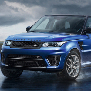 The 2015 Range Rover Sport SVR