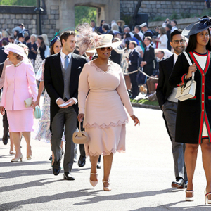 Royal Wedding 2018: Famous faces gather to watch Prince Harry marry Meghan Markle